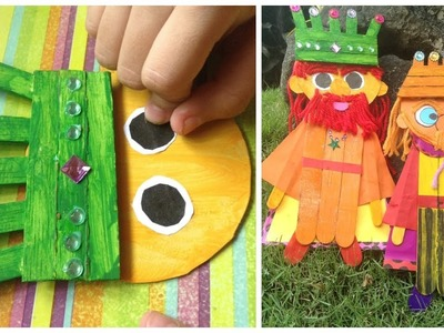 Craft Stick King - Art & Craft Idea For Kids