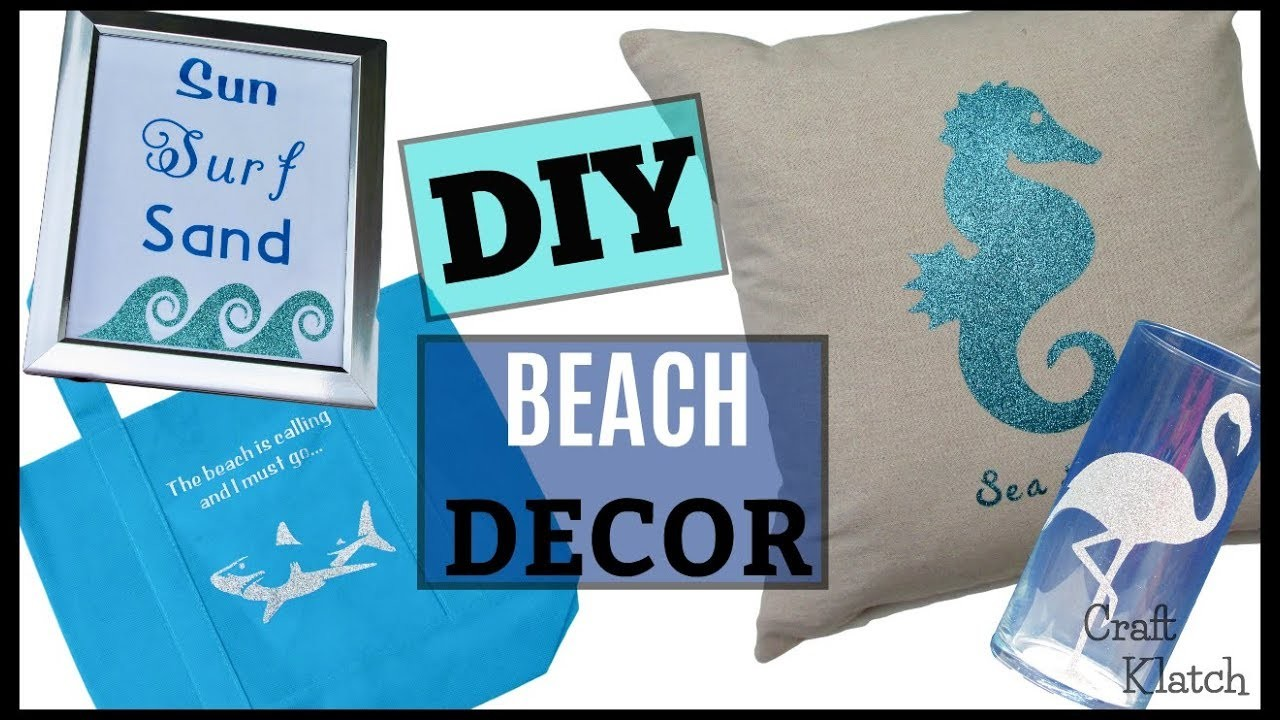 DIY Beach Decor, Crafts and DIYs ~ Craft Klatch