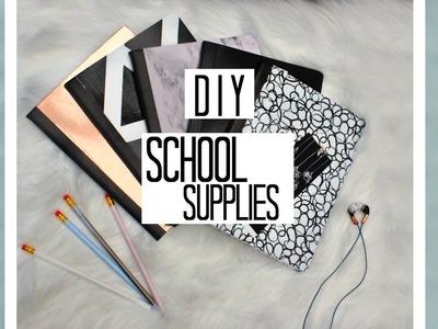 DIY Minimalistic Back To School Supplies | Trendy.Black & white