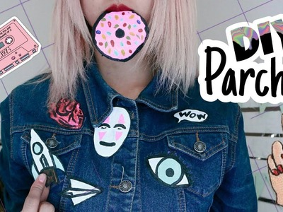 DIY PARCHES PARA ROPA.CUSTOM EMBROIDERED PATCHES