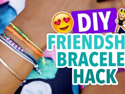DIY Removable Friendship Bracelets Craft Hack - HGTV Handmade