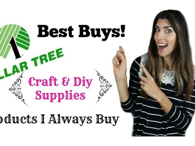 Dollar Tree Best Buys Craft & DIY Supplies. Best Bang For your Buck