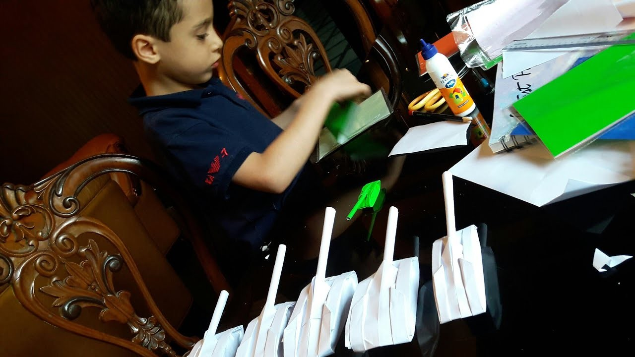 EASY PAPER CRAFT FOR KIDS MAKE A MILITARY TANK