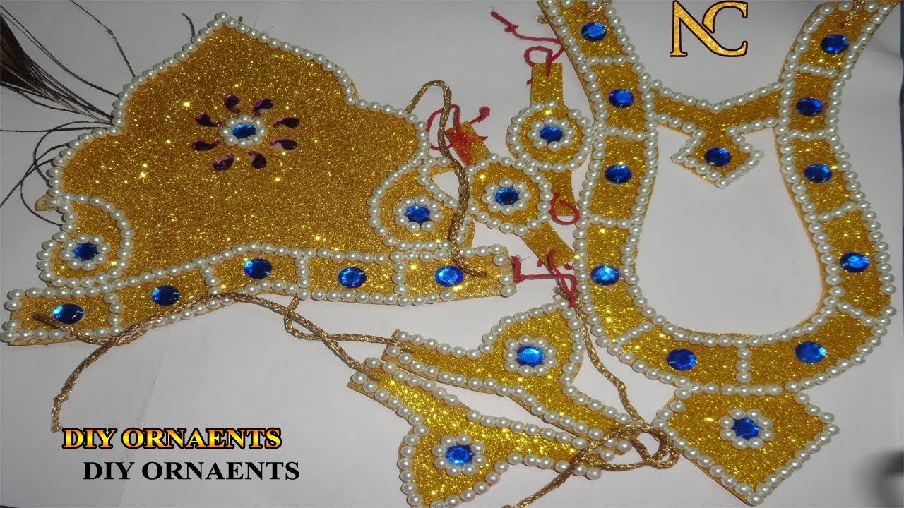 EASY TWO STEPS TO MAKE ORNAMENTS | ORNAMENTS MAKING IDEAS | NALI CRAFT