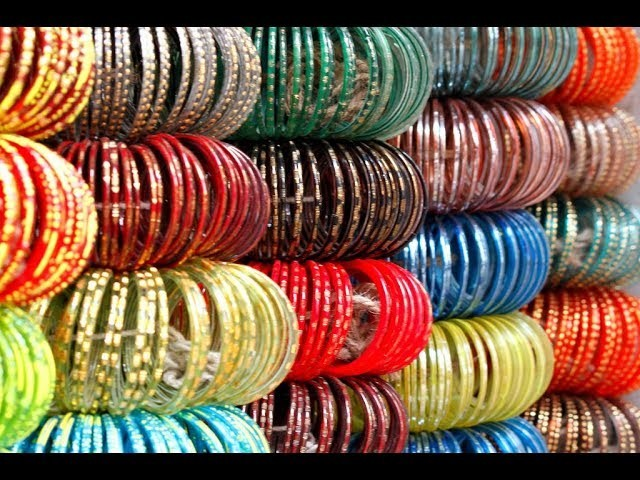 Glass bangles craft for home decoration.easy diy in home