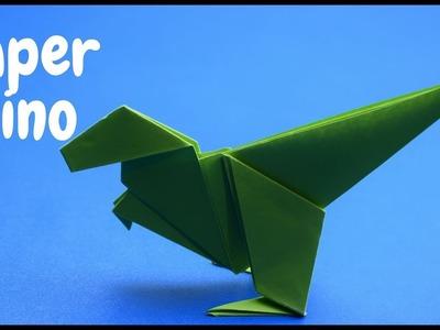 How To Make A Easy Origami Dinosaur  DIY CRAFT IDEAS 