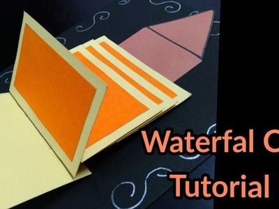 How to make - Waterfall Card( Basic) Tutorial | by Craft Show