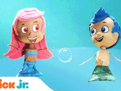 Make Your Own Bubble Guppies Surprise Craft!!   Nick Jr.