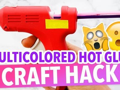 Multicolor Hot Glue Gun CRAFT HACK - HGTV Handmade