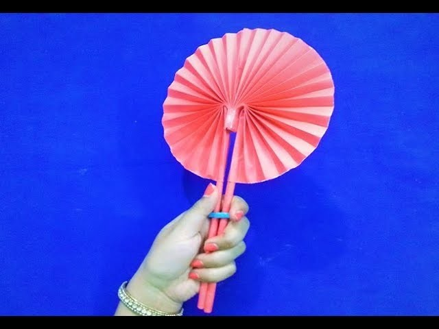 how to make craft origami fan paper fan craft 4721
