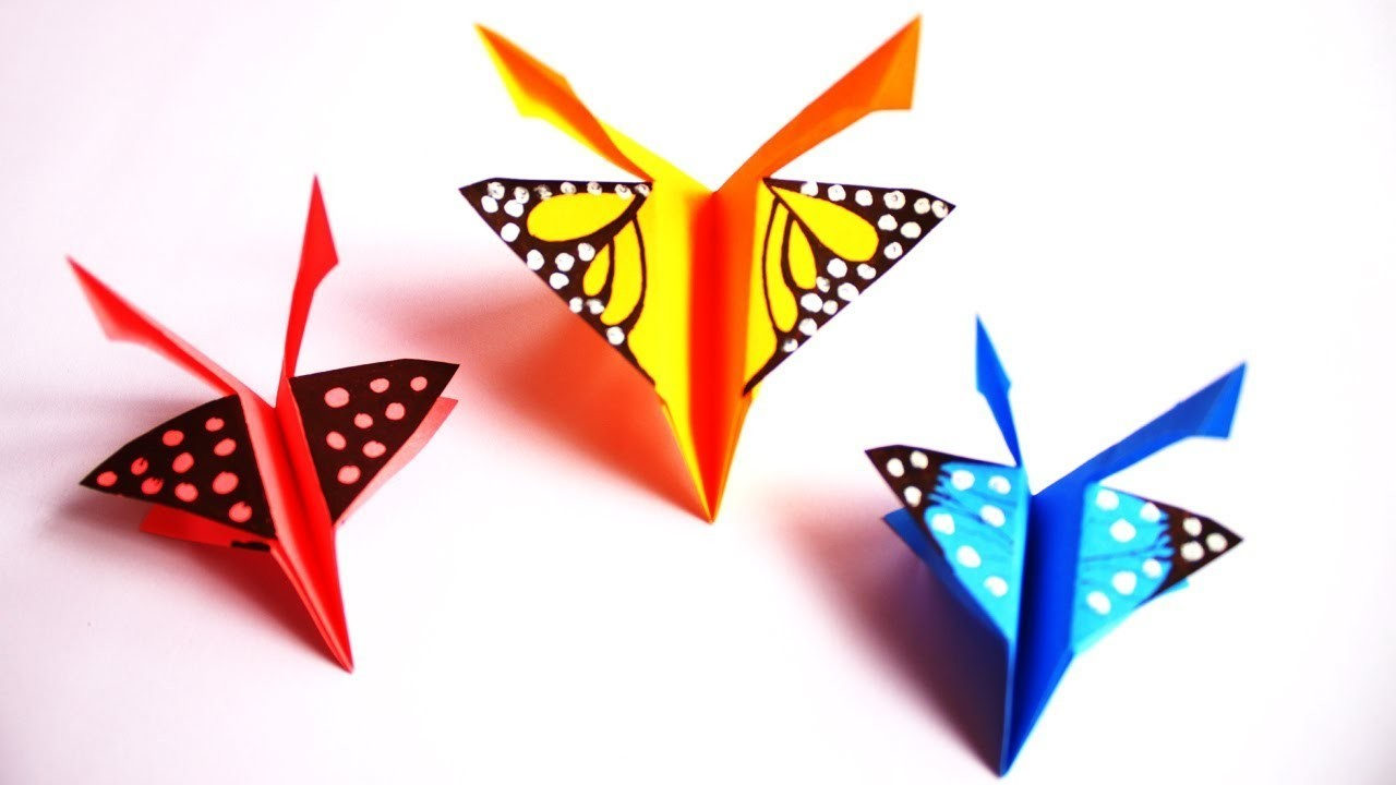 Paper Craft Paper Butterfly Origami Easy Paper