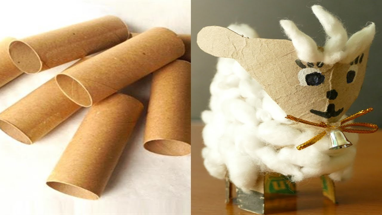 Toilet paper roll craft ideas.Recycled Toilet Paper Roll Craft (easy and fast) - drngo