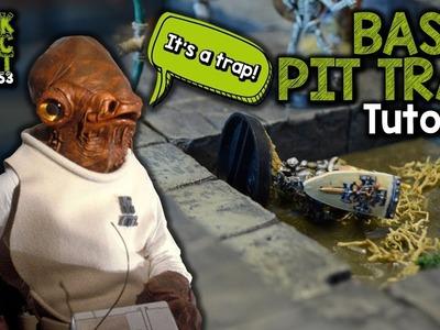 Traps! Basic Pit Trap For D&D Tutorial (Black Magic Craft Episode 053)