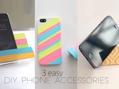 3 Easy DIY Mobile Accessories