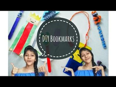 7 DIY Bookmarks #part1 ||Indian Youtuber|| |Sharvari Patil|