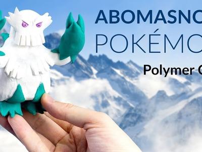 Abomasnow (Pokemon) – Polymer Clay Tutorial