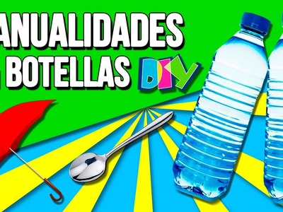 Best DiY's with Plastic BOTTLES * MANUALIDADES con BOTELLAS ✅  Top Tips & Tricks en 1 minuto
