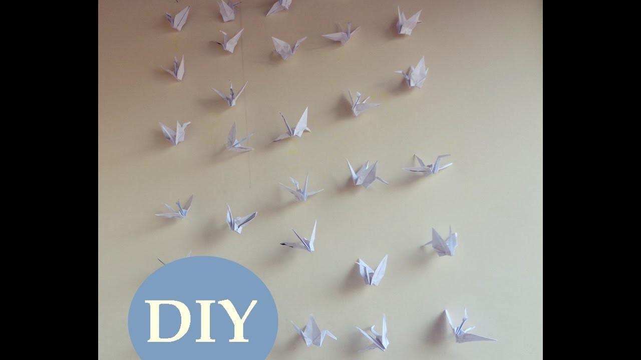 Como fazer cortina de tsuru simples - DIY para iniciantes