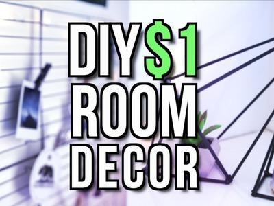 DIY $1 ROOM DECOR! Tumblr + Pinterest Inspired