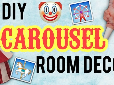DIY Carousel Room Decor! Melanie Martinez Inspired Room Decor!
