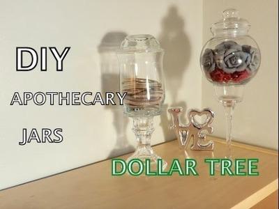 DIY Dollar Tree Apothecary Jars - $3.each!!