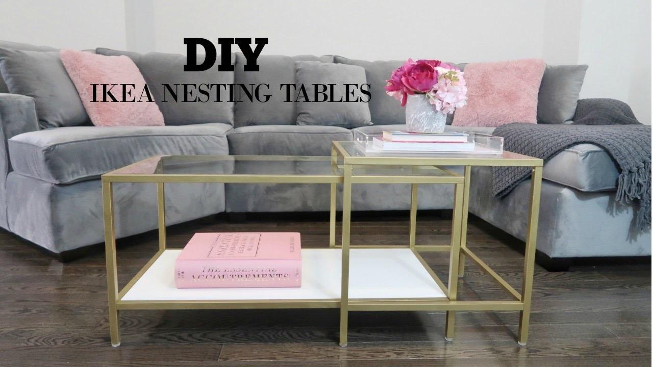 DIY - IKEA COFFEE TABLE MAKEOVER