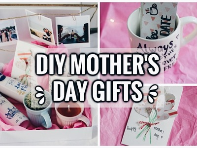 DIY Last Minute Mother's Day Gift Ideas! Cute, Easy & Affordable! 2017