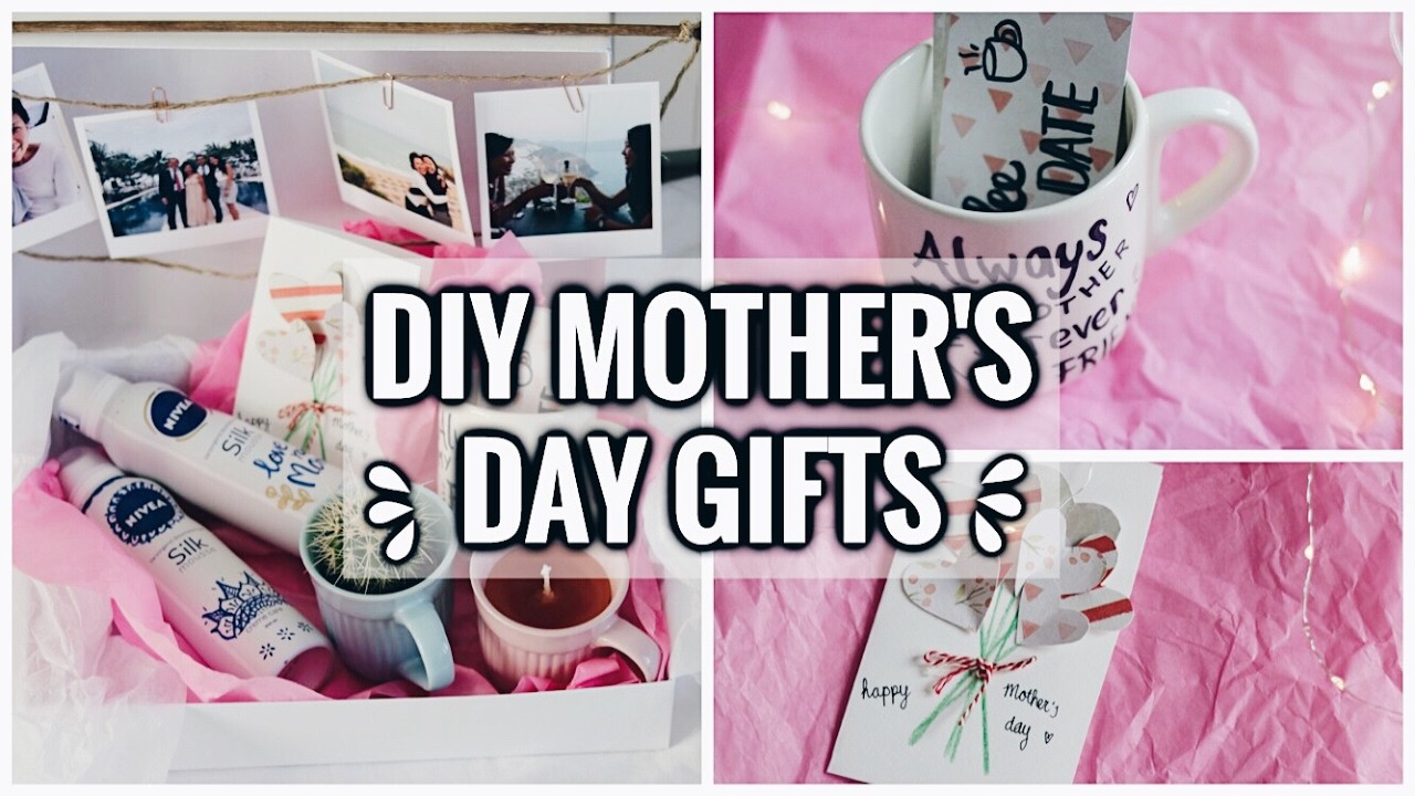 Diy Last Minute Mothers Day Gift Ideas Cute Easy