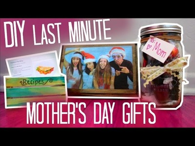 DIY LAST MINUTE MOTHER'S DAY GIFTS - Maddie Ryles