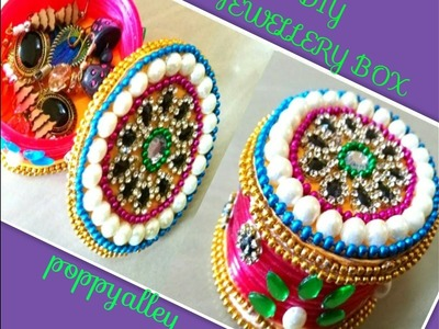 DIY : Mini Jewellery Box making at home | Best out of waste