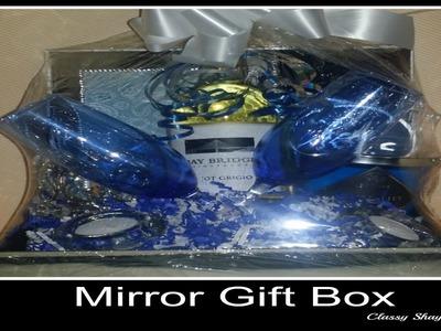 DIY Mirror Gift Basket