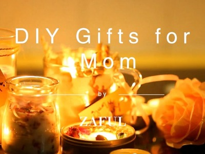 DIY Mom's Day Gifts | Potpourri Bars & Candle Jars | Zaful