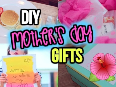 DIY MOTHER'S DAY GIFTS | Last Minute, Easy, Cheap