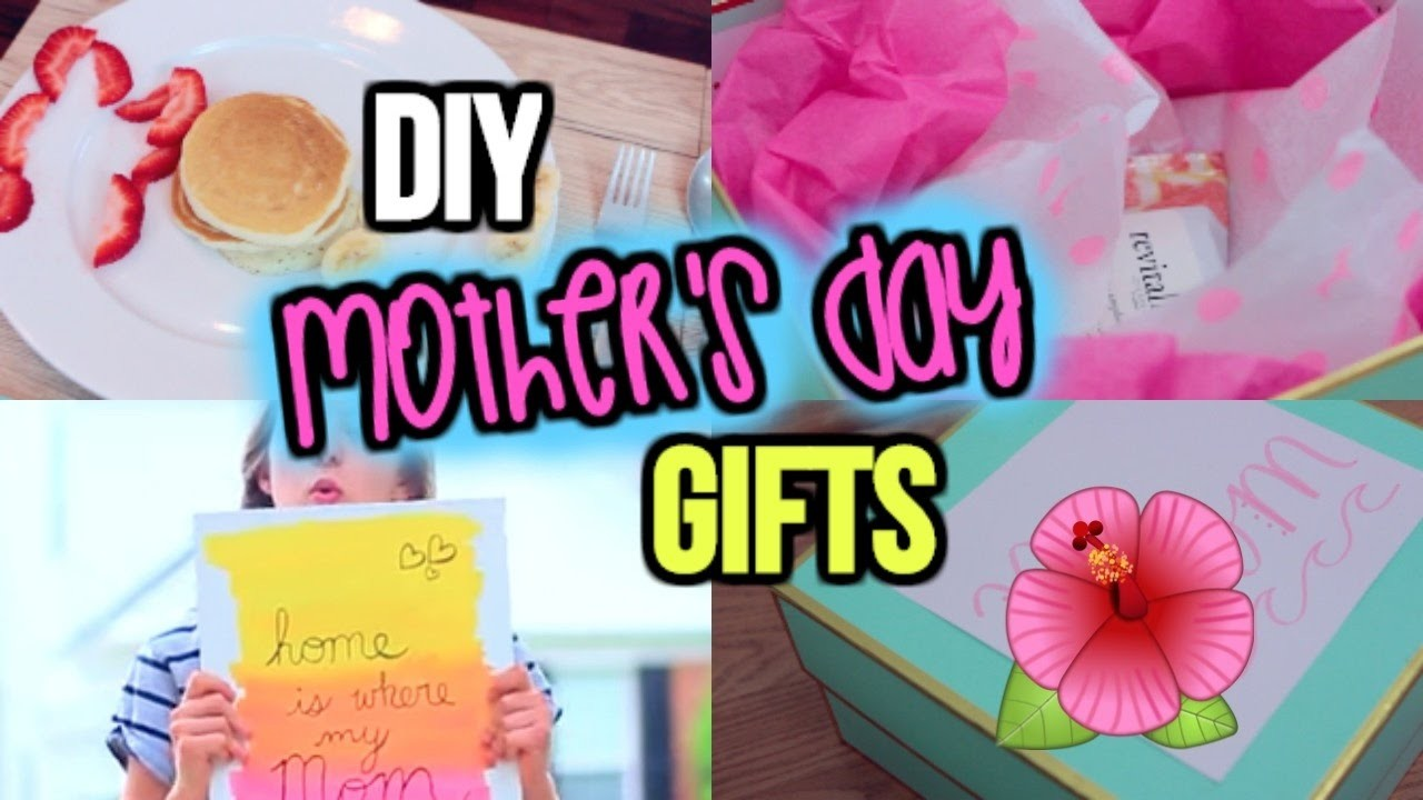 DIY MOTHER'S DAY GIFTS   Last Minute, Easy, Cheap