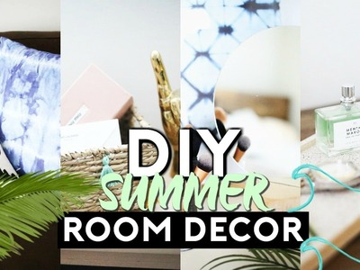 DIY SUMMER ROOM DECOR (TUMBLR INSPIRED) 2017 | Minimal & EASY