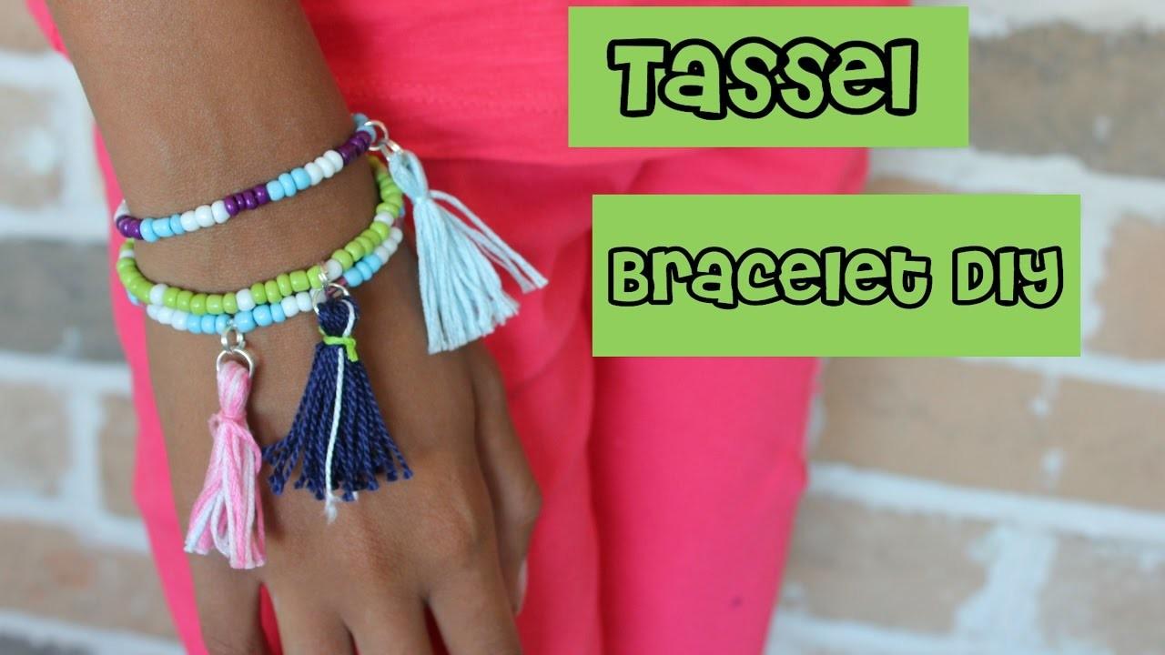 how to make glitter bracelets