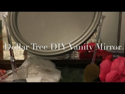 Dollar Tree DIY $3 Vanity Mirror Tray 2017