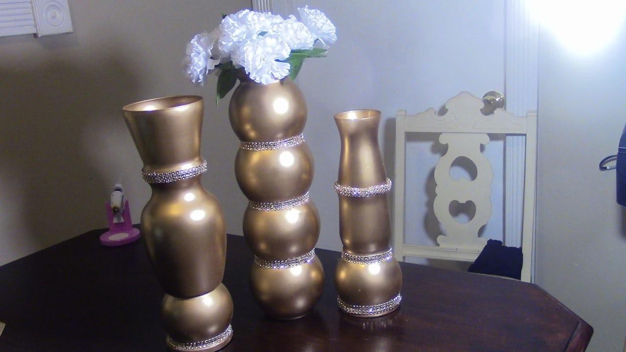 Dollar Tree Diy Faux Tall Vases