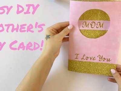 Easy DIY Mother's Day Card- 7 days 7 cards - Day #6