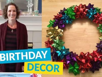 Fun Birthday DIY Ideas!