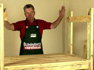 How To Build A D.I.Y. Potting Bench - D.I.Y. At Bunnings