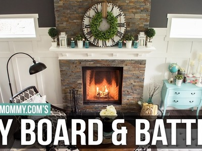 How to Install a DIY Board and Batten Feature Wall