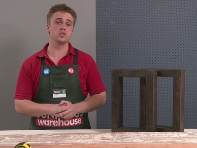 How To Make D.I.Y. Dining Table Bench Seats - D.I.Y. At Bunnings
