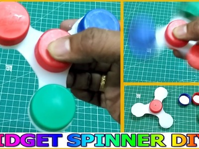 How To Make Fidget Spinner Without Ball Bearings for FREE