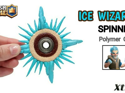ICE WIZARD FIDGET SPINNER | Clash Royale | Polymer Clay Tutorial