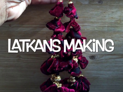 LATKANS MAKING.D-I-Y LATKANS.LATKAN MAKING OUT OF OLD FABRIC