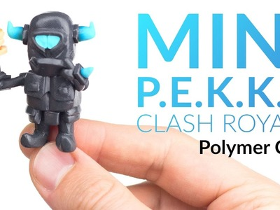Mini P.E.K.K.A (Clash Royale) – Polymer Clay Tutorial