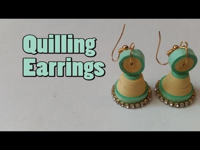 Paper Earrings || Quilling Earrings || Quilling Jhumkas || How to make Quilling earrings