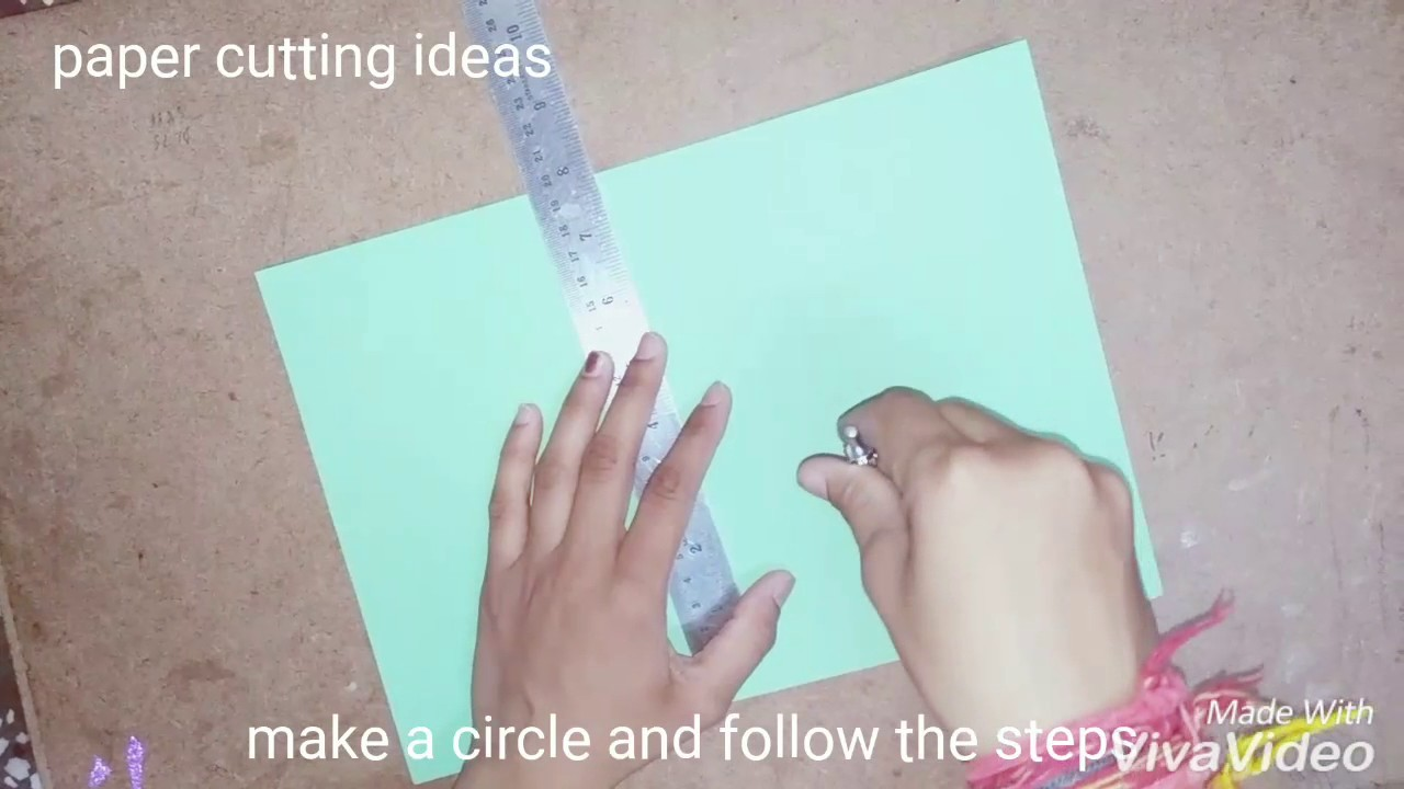 Paper Flower Envelope Paper Folding And Cutting Tricks