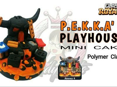 Pekka´s PlayHouse Arena | Clash Royale | Cake | Polymer Clay Tutorial